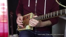 B. B. King - The Thrill Is Gone Cover Cigar Box Guitar by Jerome Graille.