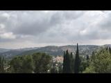 Панорама на святой град Иерусалим из Горненского монастыря . 13 июня 2018