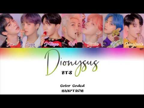 BTS Dionysus Legendado PT BR Color Coded HAN PT ROM Lyrics by Izzy