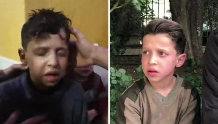 Вести.Ru: История сирийского мальчика из ролика о