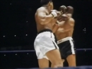 Blistering hand speed by Muhammad Ali