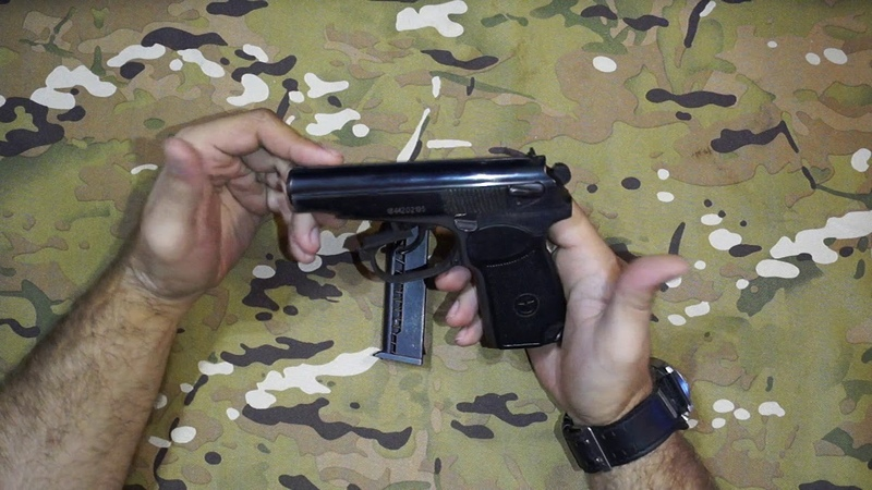 Обзор охолощенного пистолета Р-411 производства Концерн Калашников