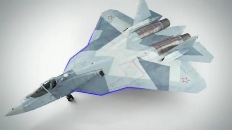 Т 50 ПАК ФА - высший пилотаж и вооружение