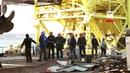 Спуск и подъем судна в Керчи СПК Олимпия