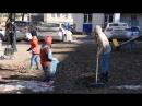 Акция «Чистый двор – чистая совесть» (Ленинский район Уфы, 14.04.2018)
