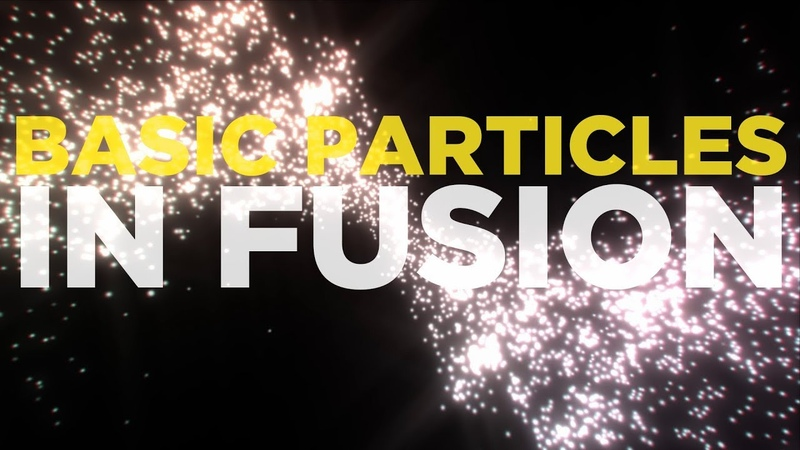 Simple Particle Galaxy - Fusion Particles Introduction Tutorial
