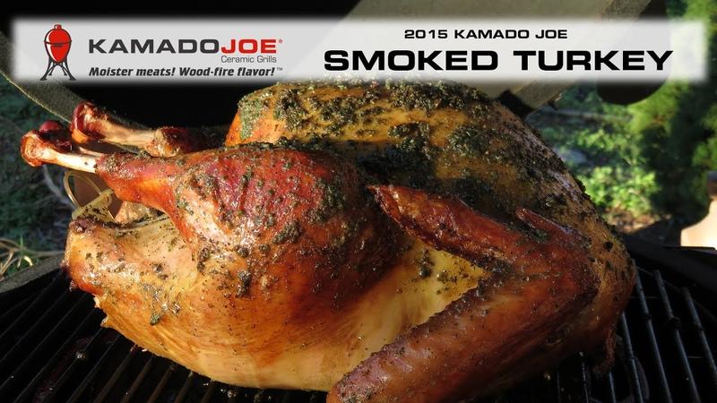 Kamado Joe 2015 Smoked Turkey