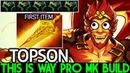 TOPSON Monkey King This is Way Pro MK Build First Radiance 7 20 Dota 2
