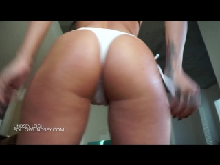 Cum For My Beautiful Oiled Ass