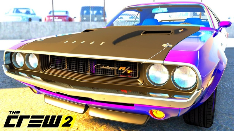 THE CREW 2 GOLD EDiTiON TUNiNG DODGE CHALLENGER R T PART 325