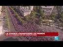 La France championne du monde les Bleus attendus par une foule sur les Champs Élysées