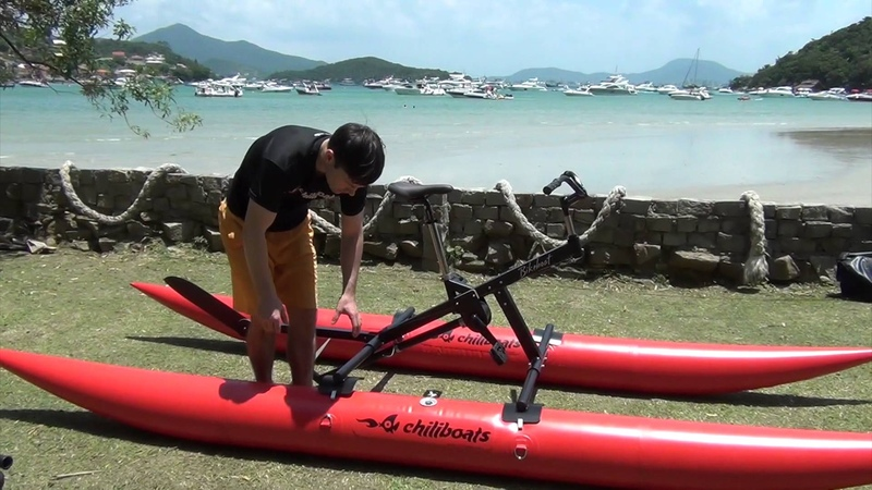 Bikeboat Up 2016_Assembling for use_Montando para usar