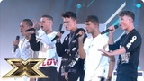 United Vibe sing Slow Hands Live Shows Week 1 The X Factor UK 2018