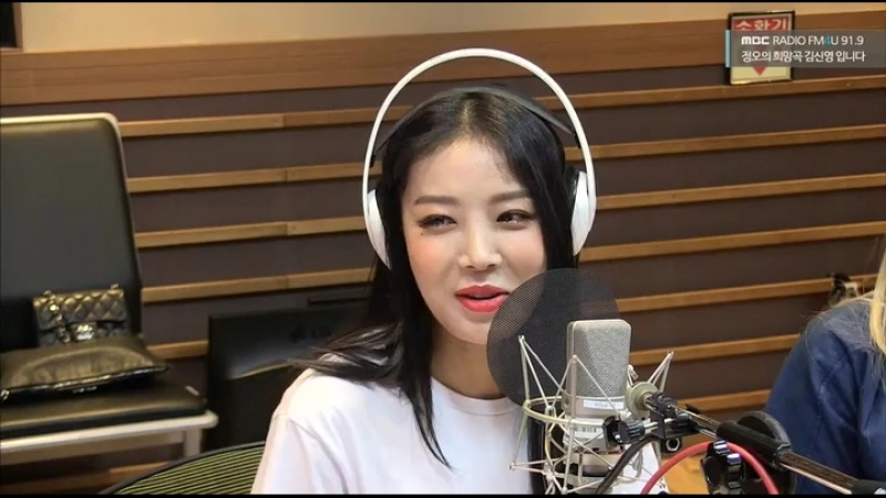 180614 MBC Shinyoung Song of Hope Radio with Pristin V and Yubin