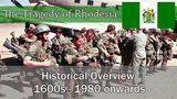 The Tragedy of Rhodesia A Historical Overview (1600s-1980)