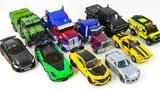 Transformers Movie 5 TLK Autobots VS Movie 1 Studio Series Autobots Truck Vehicle Car Robot Toys