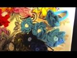 Украшения для волос Цветы в стиле бохо шик