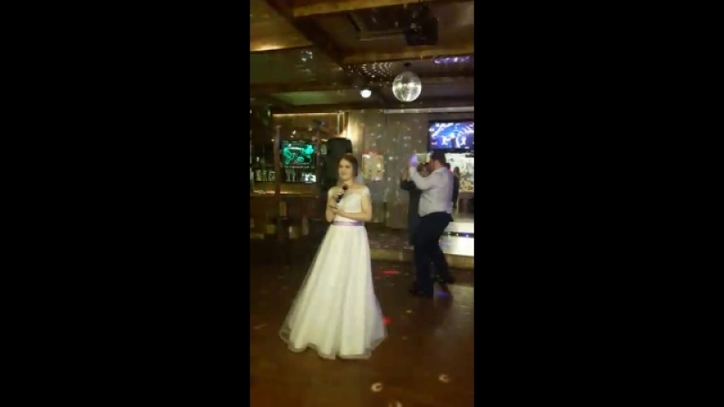 Лилечка поет на свадьбе