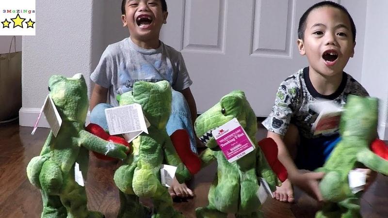 Kids React on Twerking Dinasaur
