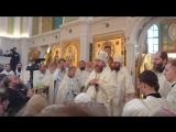 Прощальная проповедь владыки Тихона в Сретенском монастыре