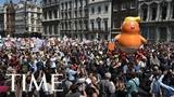 Лондон протестует против визита Дональда Трампа в UK