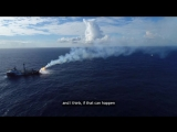 Leg 8 - Dee reaction to the oil rigs