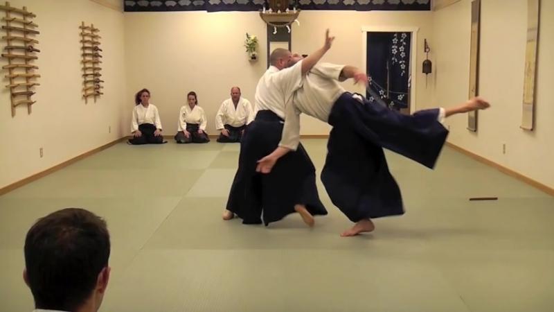 Aikido Three Knife Disarms