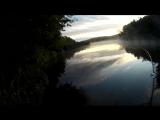Просто рыбалка.Утро 6-30 21.09.16.(щука 2.2 и 1.2 кг.) Музыка Synthaurion-On The Edge Of The Universe(2010)