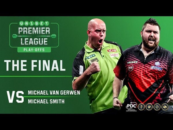 2018 Premier League of Darts Final van Gerwen vs Smith