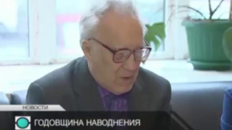 Фрагмент научно-популярного фильма про дамбу Петербурга
