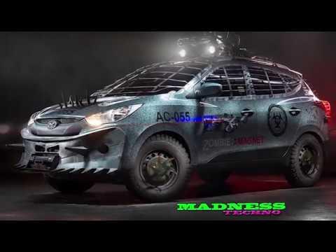 Машина для зомби апокалипсиса Zombie car