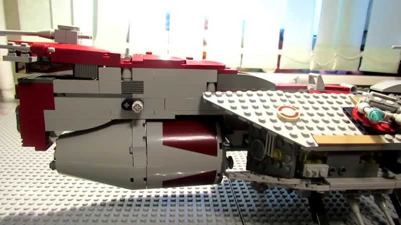 SLM444 SuperLegoMan444 Lego Star Wars 7964 Republic Frigate Review