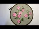 Простая роза из ленты / Simple ribbon rose