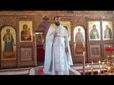 проповедь в праздник Вознесения Господня клирика Сосновского благочиния иерея Владимира Александрова