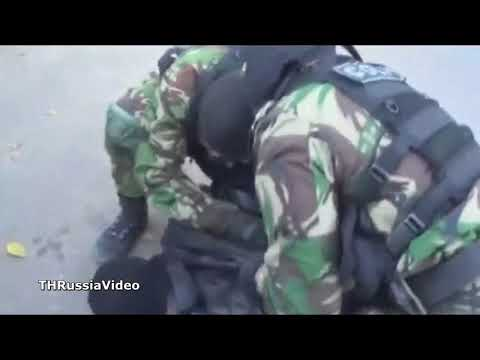 Russian Special Forces Spetsnaz in Action