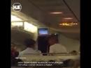 Пьяный актёр Алексей Панин устроил дебош в самолете