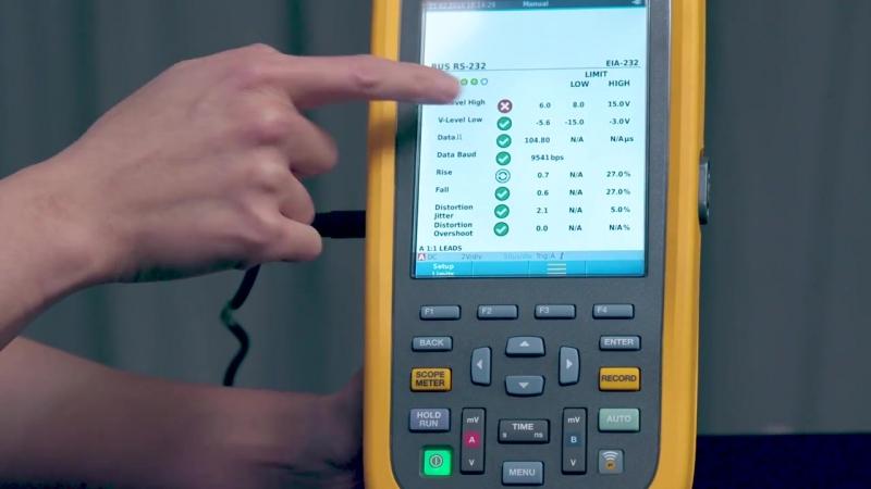 Промышленные портативные осциллографы Fluke ScopeMeter® серии 120B NKpribor.ru