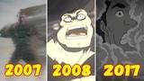 Эволюция Превращения Флинта Марко в Песочного Человека (2007-2017)