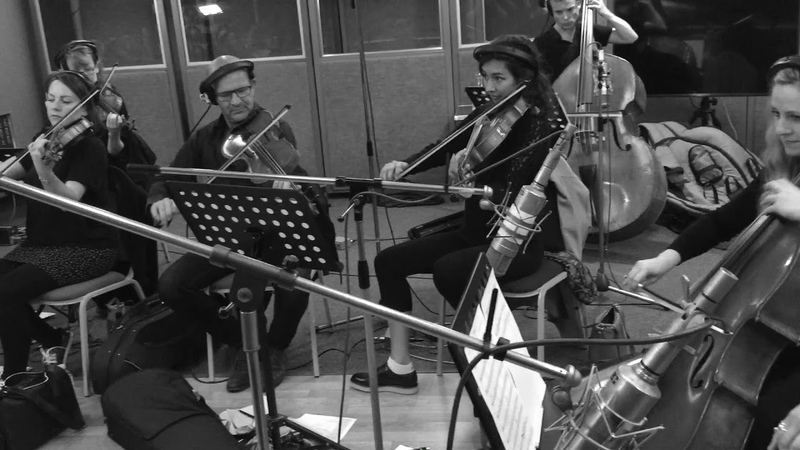 Rosie Danvers and Wired Strings recording I Might for Tom Grennan.