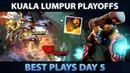 KUALA LUMPUR MAJOR - Best Plays of Day 5 [Playoffs] - Dota 2