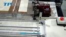 ET 2230 Automatic single side long sewing machine for scarf 纱巾机视频