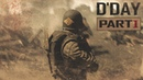 D-DAY Machinima Part 1 Omaha beach/ArmA III Movie