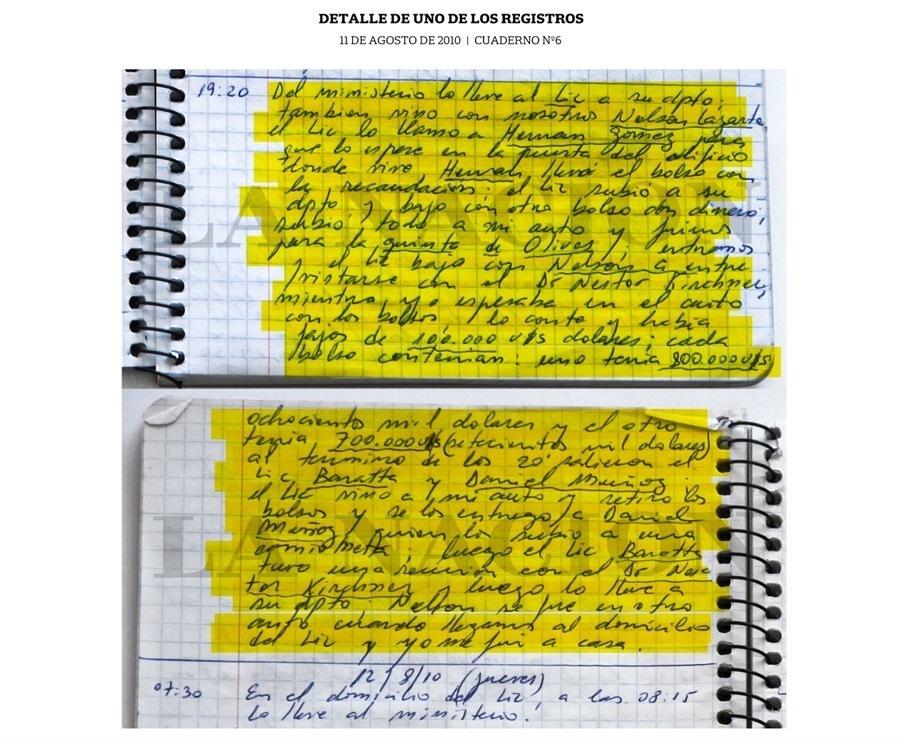 В Аргентине водитель чиновников несколько лет записывал все развезённые взятки. Это привело к арестам 12 человек