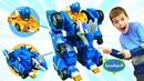 Трансформеры Роботы Монкарт Monkart Мегароиды битва трансформеров
