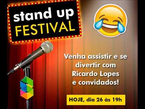 STAND-UP COMEDY COM RICARDO LOPES NO SHOPPING AVENIDA 28