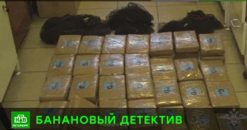 Питерская полиция нашла в партии эквадорских бананов полцентнера кокаина