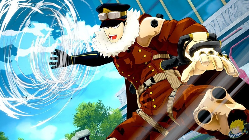 My Hero Academia One's Justice Inasa Yoarashi Gale Force DLC Screenshots FULL HD