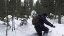 Тайга. Поход. Тест самодельных охотничьих лыж.