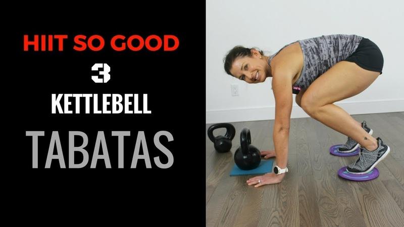 KETTLEBELL TABATA - HIIT SO GOOD WITH WARMUP