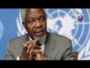 Rinden homenaje a Kofi Annan en la ONU